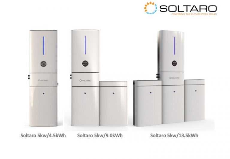 Soltaro Battery Storage System